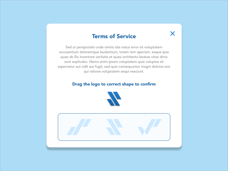 Daily UI Challenge 089 - Terms of Service dailyui ui design