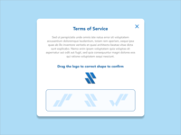 Daily UI Challenge 089 - Terms of Service