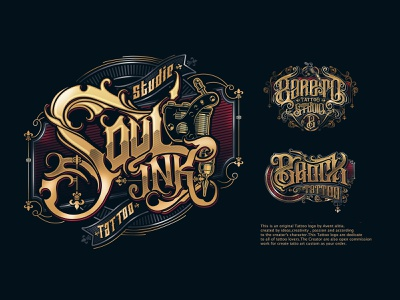Tattoo Logo Designs Themes Templates And Downloadable Graphic Elements On Dribbble Connect with them on dribbble; tattoo logo designs themes templates