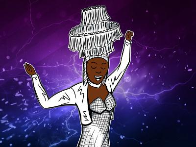 Hackers Movie Dancer adobe photoshop illustration