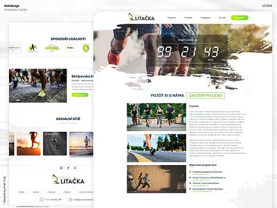 """""""Skřípovská Lítačka"""" website web design webdesign"""