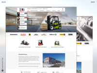 Webdesign for company Fos Servis