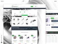 E-commerce design/ Webdesign of RemanteShop
