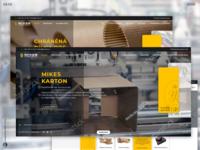 Webdesign of MikesKarton