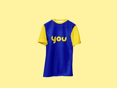 YOU Tshirt mockup apparel mockup brand identity identity design branding tshirt mockup logodesign mockup