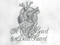A Cold Heart is a Dead Heart - Pencil