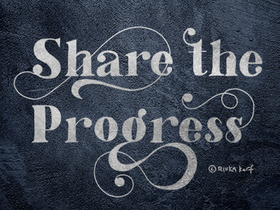 Share The Progress for Goodtype challenge