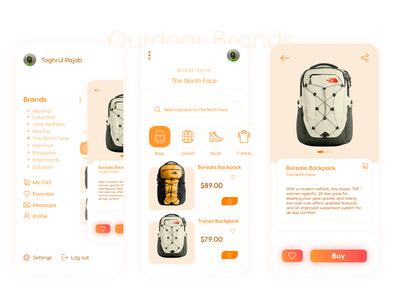 Outdoor Brands App