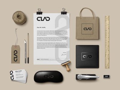 Clad Brand Identity