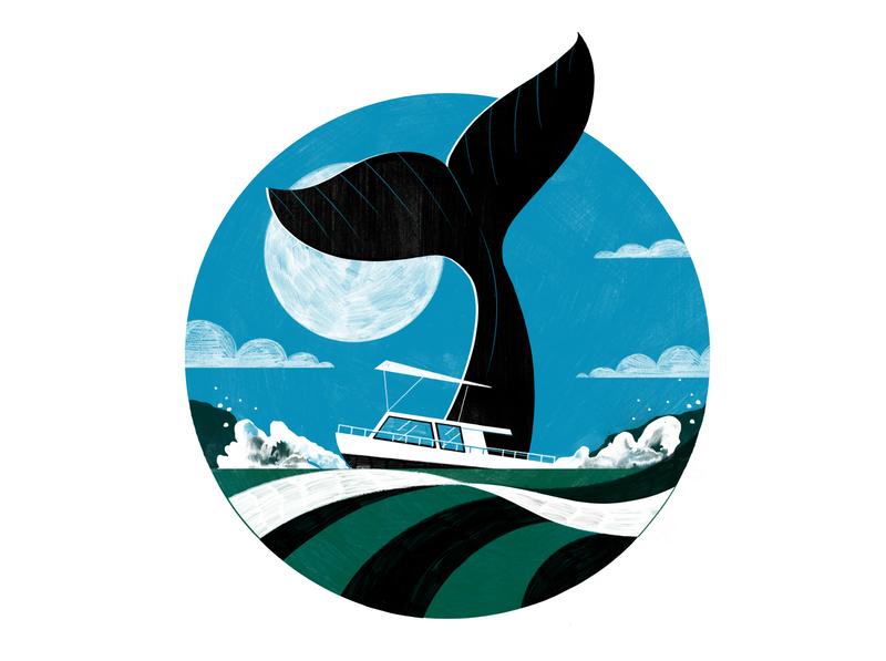 Ocean Tourism in Mexico- Culture Trip wellness travel illustration editoral design colour print editorial illustration