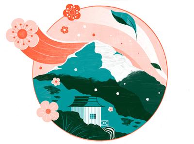 Wabi Sabi The Japanese Art of Finding Perfection - Culture Trip japan travel editorial architecture illustration editoral design print editorial illustration