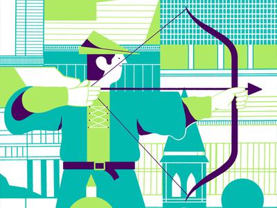 Deliveroo colour food logo architecture editorial design editoral print illistration editorial illustration