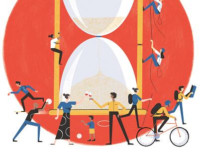 The Telegraph adventure time newspaper illustration illustration editoral illistration design colour print editorial illustration