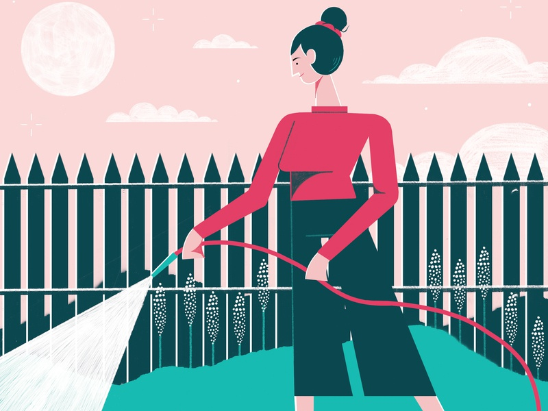 Eco hacks : 30 ways to a greener home - The Telegraph editorial illustration editoral design colour print editorial illustration
