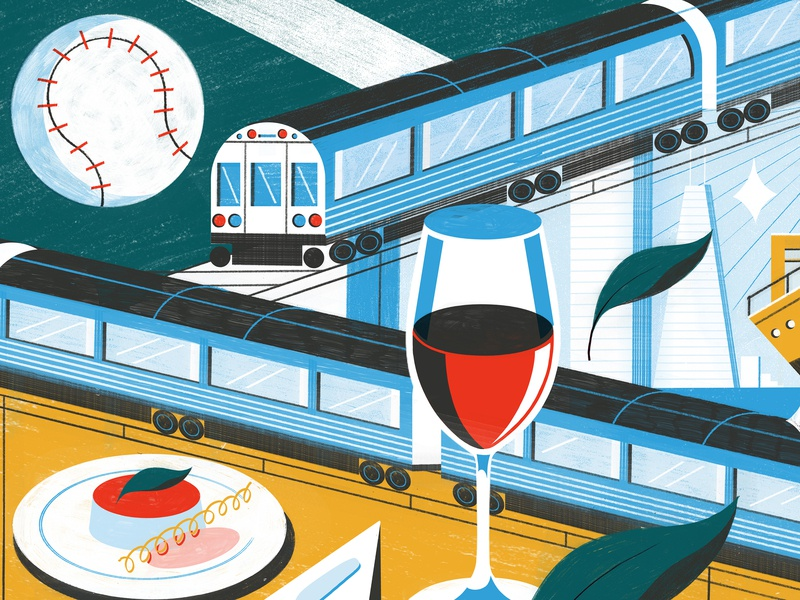 Things To Know Before Visiting Chicago - Culture Trip america chicago editoral design colour print editorial illustration