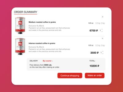 Shopping Cart design ux ui flat website commerce web