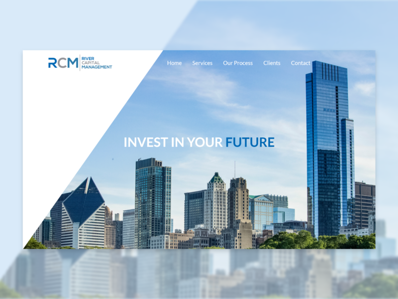 Investment & Banking banking investment website branding ux ui commerce web design