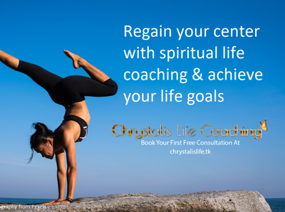 Chrystalis Life Coaching ad for LinkedIn