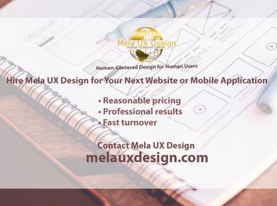 Mela UX Design for social media marketing