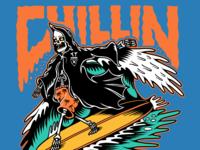 Grim Reaper Chillin!