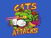 Cats attacks!