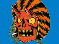 Biker   Drawn By Joe Tamponi   Creepy   Funny Llustrations Inspi
