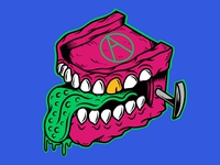 Chattering Teeth   Killer Denture   Drawn By Joe Tamponi   Creep