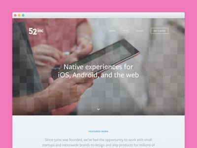 Work case study website web design process portfolio work redesign startup agency