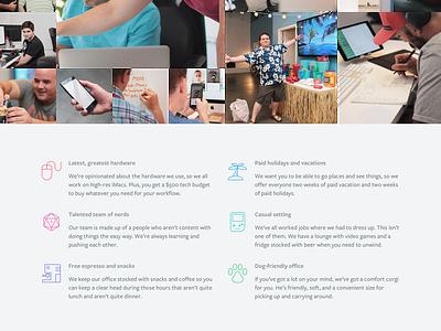Careers web design website process jobs careers agency
