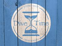 diving shop DIVE TIME logo