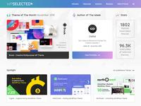 WPSelected Homepage November 2018