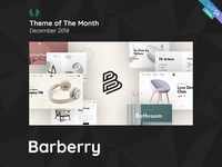 WPSelected Theme Of The Month December 2018 Barberry
