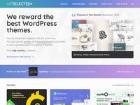 WPSelected Homepage December 2018