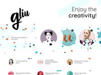 Gliu - WordPress Creative Blog Theme