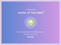 WPSelected - Author of The Week - 51