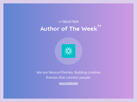 WPSelected - Author of The Week - 54