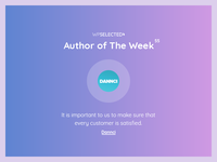 WPSelected - Author of The Week - 55