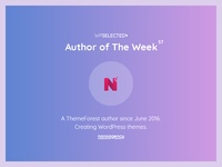 WPSelected - Author of The Week - 57