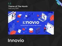 WPSelected Theme Of The Month February 2019 Innovio