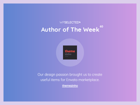 WPSelected - Author of The Week - 60