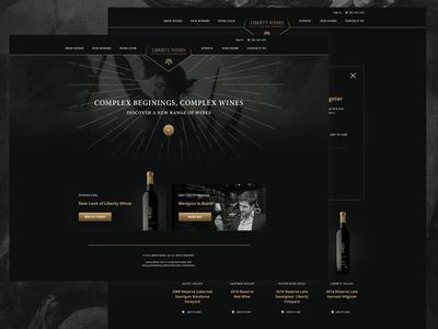 Wine Ecommerce Concept