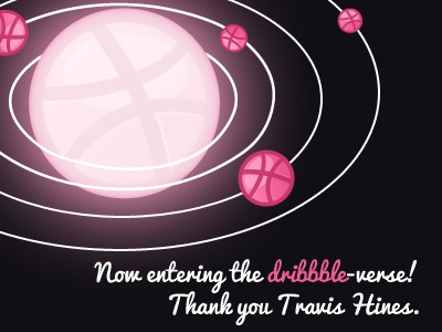 dribbble-verse first shot