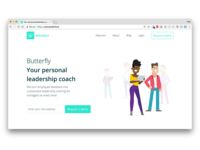 New Butterfly Website