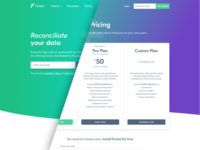 Forest Admin - Pricing Page