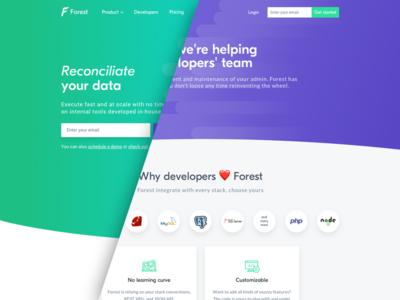 Forest Admin -  Developer Page