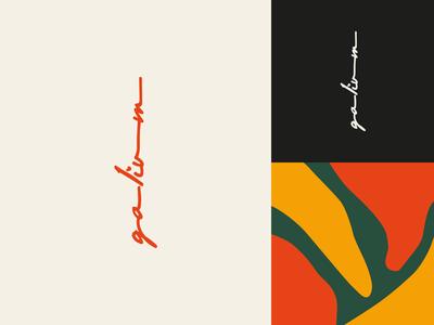 Galium logo & pattern