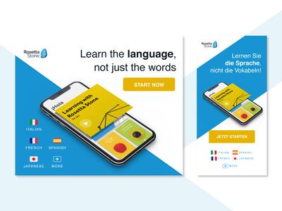 Rosetta Stone Affiliate Campaign