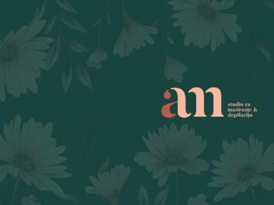 AM studio for massage branding