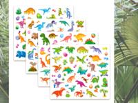 Dinosaurs stikers