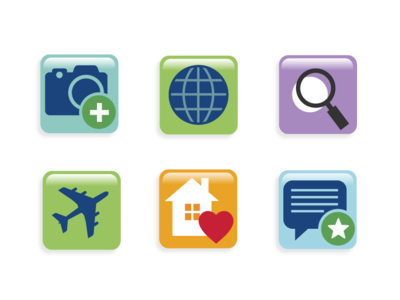 Tableau Software blog Icons by Don Baker Creative on Dribbble
